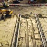Terreinverharding Nieuwegein | Betonplaten 200x200x14cm | De Keij