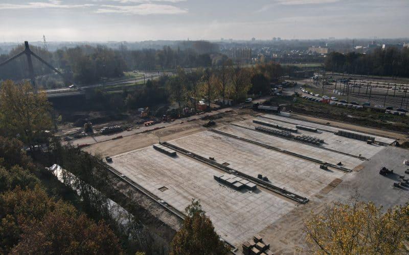 Großraum pflaster mit Betonplatten | Betonplatten verlegen | Betonplatte