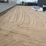 Nivellierung von Sandwegen für Betonplatten pflaster | De Keij