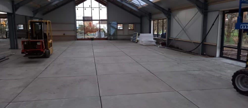 Betonplatten pflaster Gartencenter | Betonplatten transportieren und verlegen | De Keij
