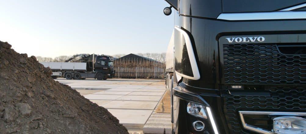 Pottenveld verharding | Containerveld verharding | De Keij