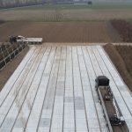 Betonplatten für Containerfläche | Betonplatten 200x200 cm | De Keij