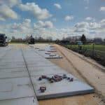 Betonplaten 200x200x14 | Gladde betonplaten | De Keij